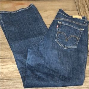 ⭐Levi's perfectly slimming 512 bootcut size 10S
